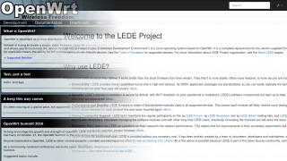 OpenWRT-Alternative LEDE soll wieder ins Hauptprojekt integriert werden