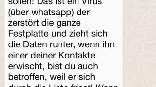 """Aus """"Ute Christoff"""" wird """"Tobias Mathis"""": WhatsApp-Kettenbrief zum Festplatten-Zerstörer dreht noch eine Runde"""