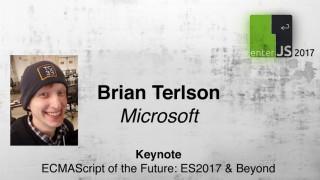 Livestream: ECMAScript-Editor Brian Terlson berichtet über die Zukunft des Standard