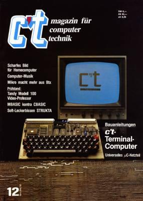 Erstausgabe der c't 11/83