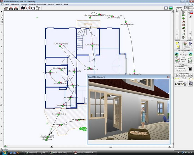 architekt 3d professional mein heim 3d heise download. Black Bedroom Furniture Sets. Home Design Ideas