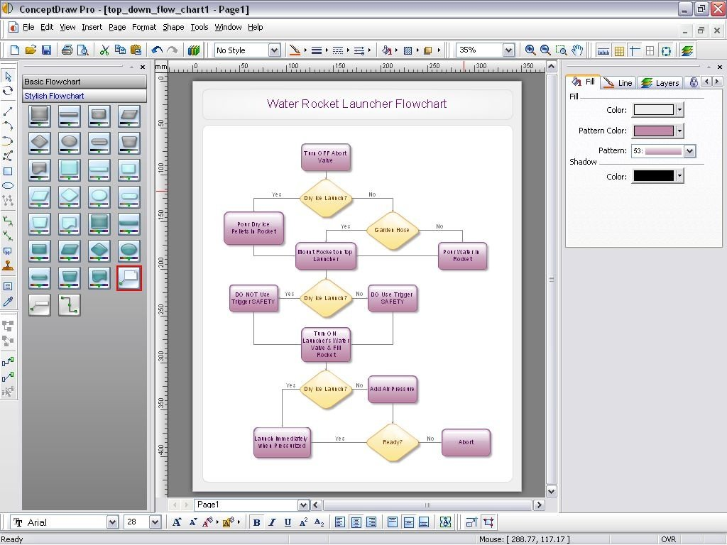 Drawing Lines In Yed : Conceptdraw heise download