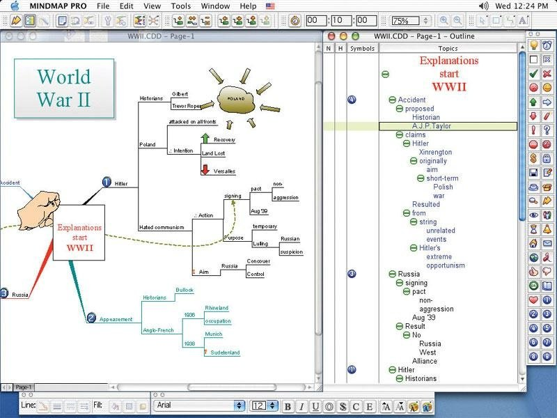 Drawing Lines In Yed : Conceptdraw mindmap heise download