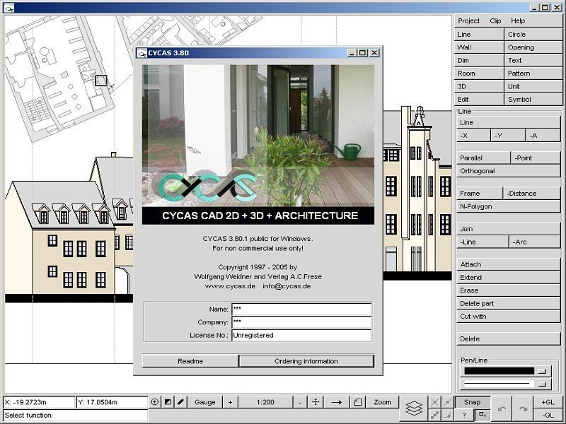 cad programme kostenlos architektur. Black Bedroom Furniture Sets. Home Design Ideas