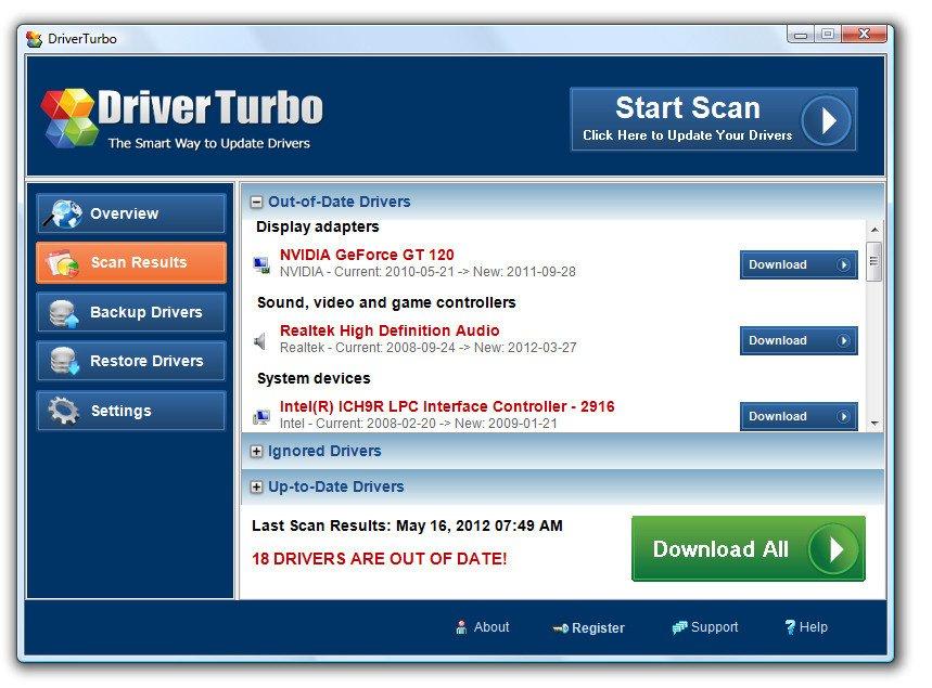 driver turbo kostenlos