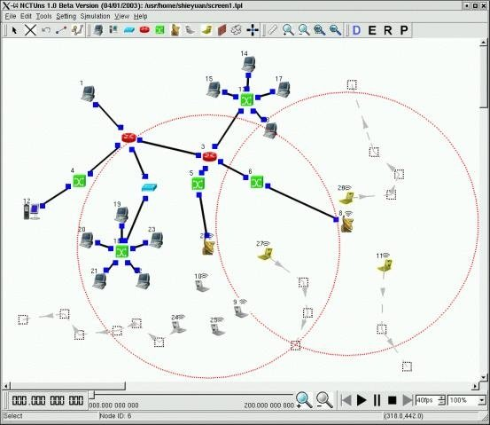 nctuns 5.0 network simulator emulator