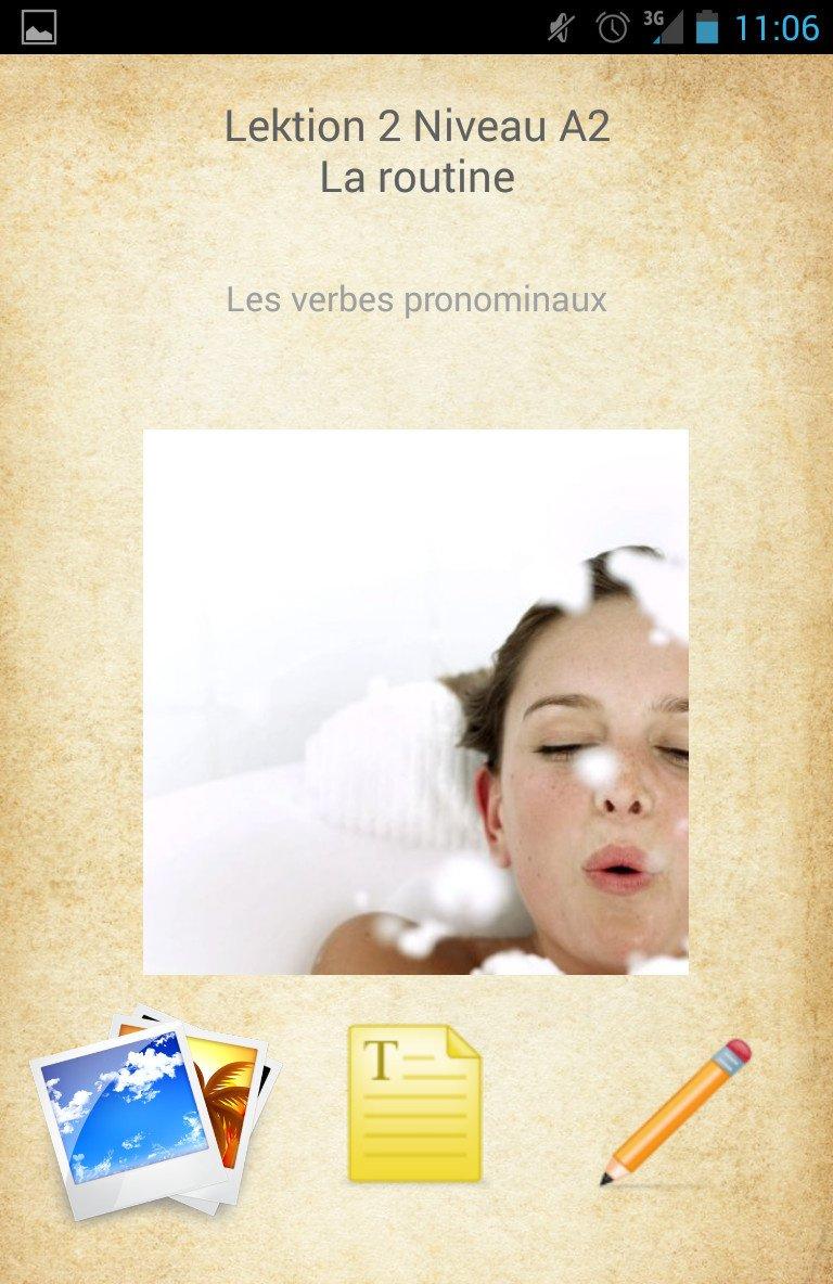 Online-dating in französisch