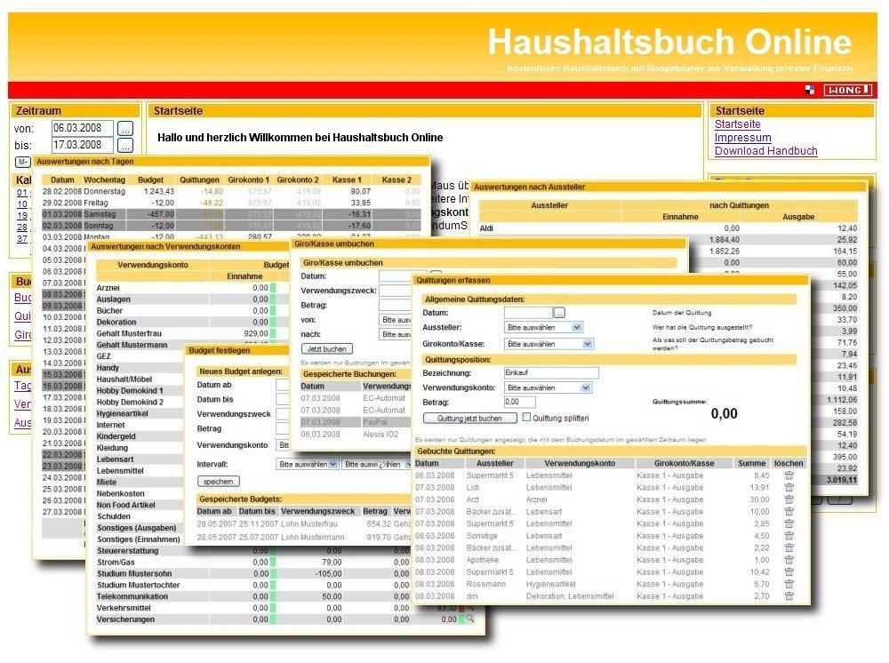 Haushaltsbuch online heise download for Klassisches haushaltsbuch