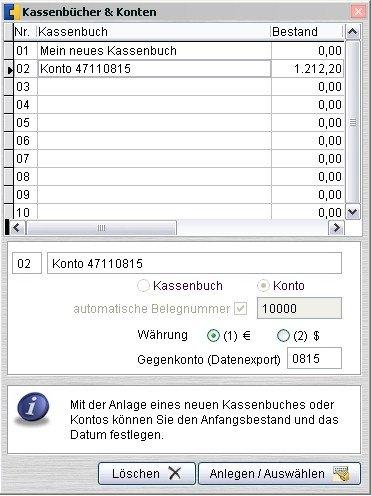 Kassenbuch und konto heise download for Klassisches haushaltsbuch