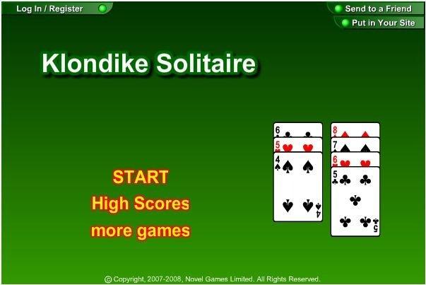 Solitär Klondike Kostenlos Spielen