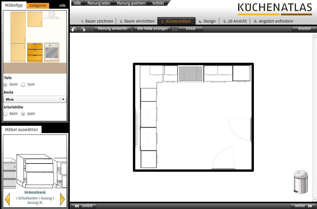 k chen atlas k chenplaner heise download. Black Bedroom Furniture Sets. Home Design Ideas