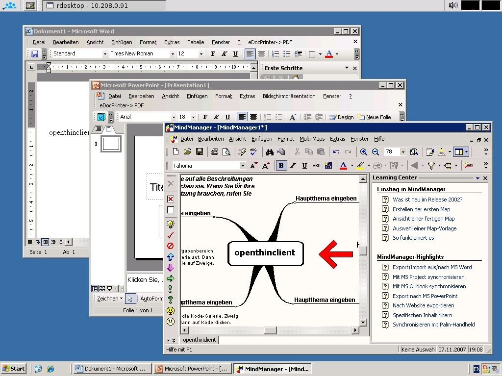 openThinClient | heise Download