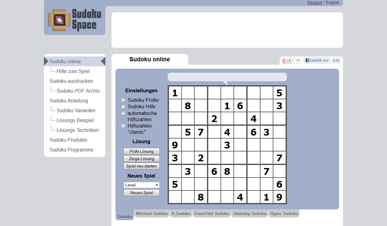 Sudoku Space | heise Download
