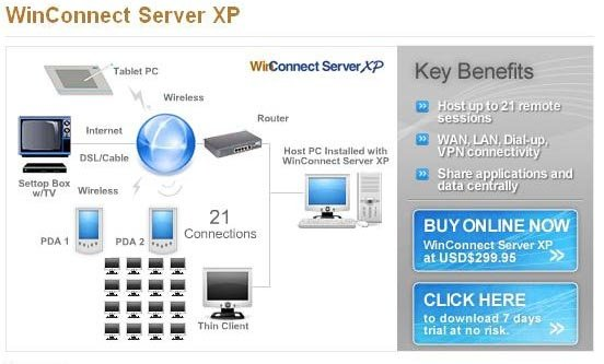 WinConnect Server XP | heise Download