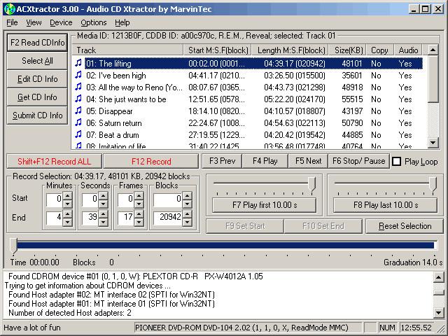 Télécharger Exact Audio Copy (EAC) pour Windows ...