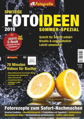 Titelbild c't Digitale Fotografie - Sommer Spezial 2019