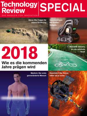Titelbild Technology Review Special 2018