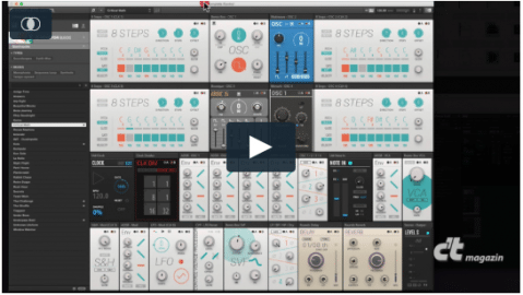 c't-Tutorial: Synthesizer-Baukasten Reaktor 6