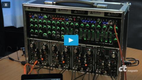 Roland Aira: Eurorack mit System-1m und Effektmodulen
