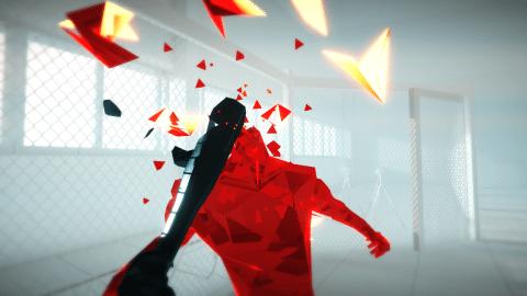 Spieletest: Superhot fordert zum Zeitlupenduell