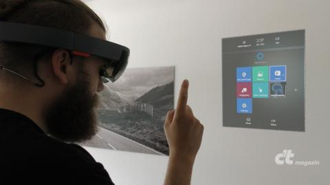 Mixed-Reality-Brille: Microsoft HoloLens im Praxistest