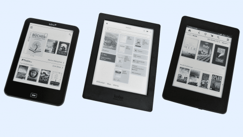 Kindle, Kobo, Tolino: Kaufberatung E-Book-Reader