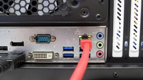 PC mit Intel-Netzwerkchip