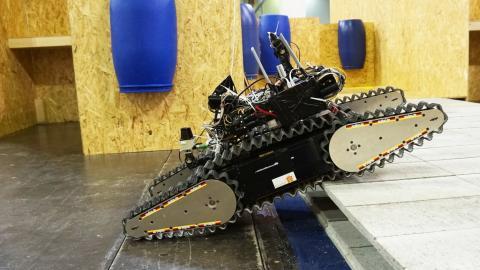 Meisterschaft der Maschinen: RoboCup Rescue sucht Robohelden