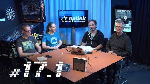 c't uplink 17.1: Google I/O, KI macht Bilder schön, Intel Optane