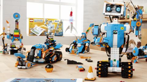 Lego-boost: Roboter-Bausatz im Hands-on