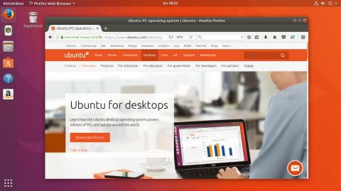 Linux-Distributionsfamilie Ubuntu 17.10 freigegeben
