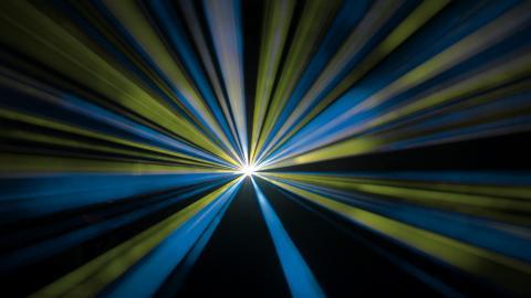 Lasershow ohne Laser
