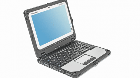 Test: Fully-Ruggedized-Notebook Panasonic ToughBook CF-20