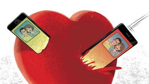 Pärchen-Apps für das Beziehungs-Management