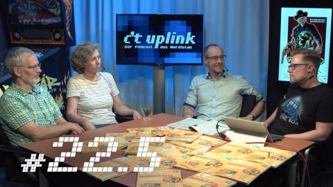 c't uplink 22.5: Displays der Zukunft, Taucher-Smartwatch, alternative Windows-Startmenüs
