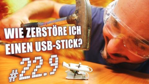 c't uplink 22.9: USB-Sticks verschlüsseln & zerstören / Mobile CPUs / 3D-Scanner fürs Handy