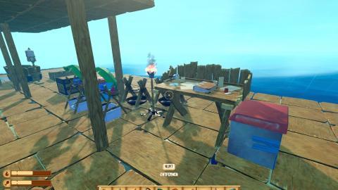 Spiele-Review: Raft, ein Ozean-Survival der anderen Art