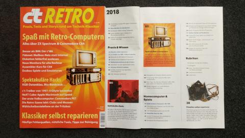 c't Retro: Spezialausgabe zu Technik-Klassikern