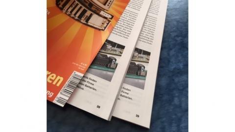 Fehldruck einiger weniger c't Retro-Hefte