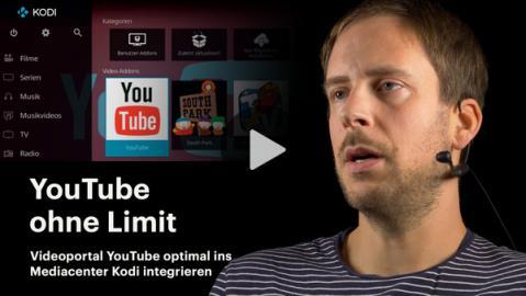 nachgehakt: YouTube in Kodi integrieren