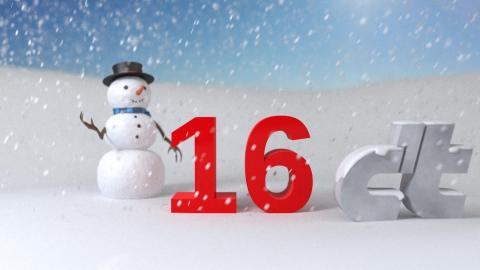 c't-Adventskalender: Animierte Schneelandschaften