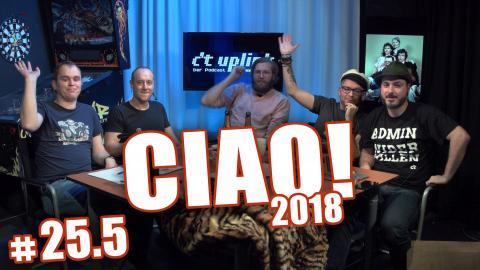 c't uplink 25.5: Ciao 2018 mit Spectre, DSGVO, Uhrzeit und Vorhersagen für 2019