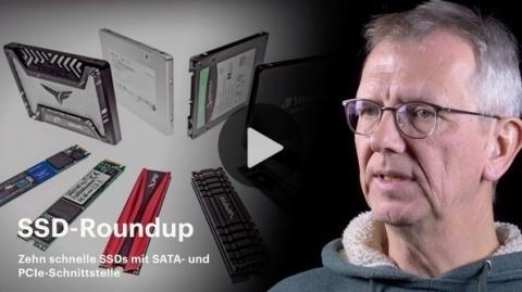 nachgehakt: Schnelle SSDs mit SATA- und PCIe-Schnittstelle