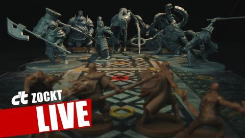 Dark Souls - The Boardgame bei c't zockt