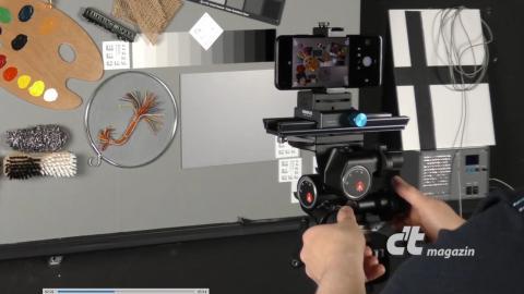 So testet c't Kameras im Smartphone