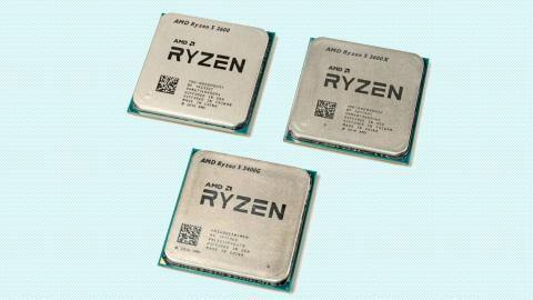 Ryzen-3000-Prozessoren mit vier und sechs Kernen