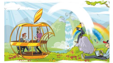 Apple-Nutzer: Gefangen im goldenen Käfig