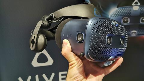 VR-Headset Vive Cosmos im Hands-on: Mehr Komfort für weniger Geld