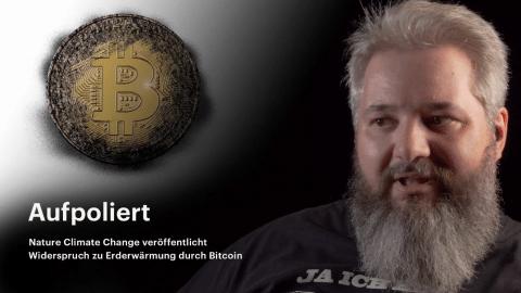 nachgehakt: Bitcoin und die Erderwärmung