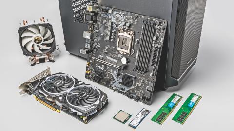 Bauvorschlag: Günstiger Gaming-PC mit Core i3 und Radeon RX 570